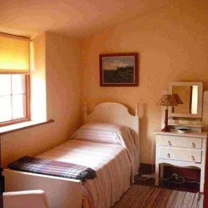 Single bed accommodation